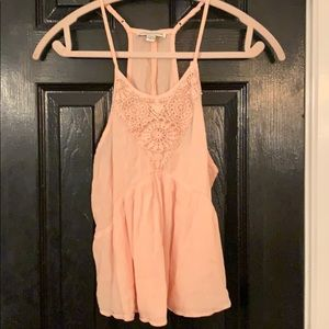 American Eagle pink crop small